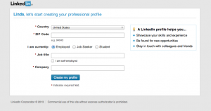 how to build your linkedin profile