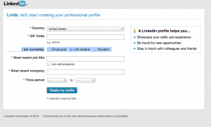 how to set up your linkedIn profile settings